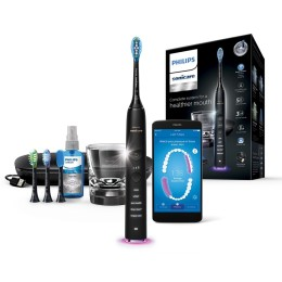 Philips Sonicare DiamondClean Smart Sonic Electric Toothbrush With App HX992412 Black