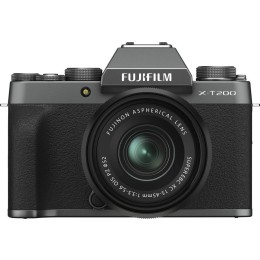 Fujifilm X-T200 Kit (15-45mm f3.5-5.6) Dark Silver