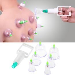 Συσκευή θεραπευτικής αγωγής με βεντούζες 6 τμχ - Body Puller/ Vacuum Cupping Set Sunction Therapy