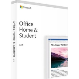 Microsoft Office Home & Student 2019 32/64bit Medialess Multilanguage (1 user)