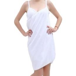 Φόρεμα Πετσέτα Παραλίας Για Γρήγορο Στέγνωμα Χρώματος Λευκό 140 X 70 Cm SPM Beach Towel WHITE