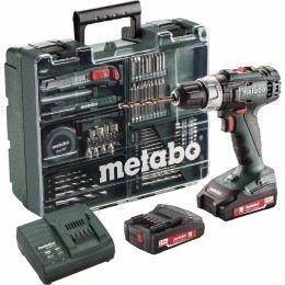 Metabo BS 18 Cordless Drill Driver incl. 2 battery and case