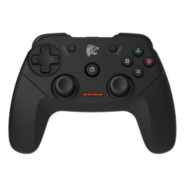 ROAR Gamepad PT-671 για PC/PS2/PS3, Wireless, Vibration, 600mAh, μαύρο