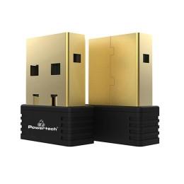 Powertech PT-694 Wireless USB nano adapter, 150Mbps, 2.4GHz, MT7601