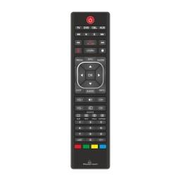 POWERTECH Χειριστήριο PT-744, προγραμματιζόμενο μέσω Η/Υ, TV/DVD/CBL/AUX