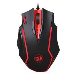 REDRAGON ενσύρματο Gaming ποντίκι M902B Samsara, Laser, 15 πλήκτρα