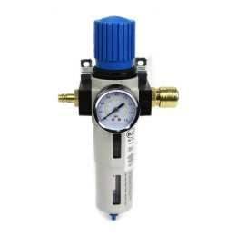 """Ρυθμιστής Πίεσης Αέρος με Υδατοπαγίδα 1/2 """" BJC M80646"""