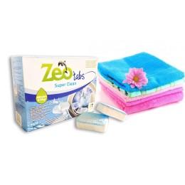 Zeo Tabs Super Clean - Αποσκληρυντικό νερού για πλυντήρια ρούχων 48 Ταμπλέτες