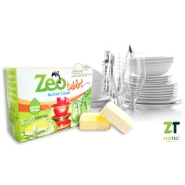 Zeo Tablet Active Clean - Απορρυπαντικό για πλυντήρια πιάτων 15 Ταμπλέτες