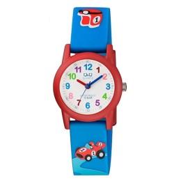 Παιδικό Ρολόι Με Αναλογική Ώρα Q&Q VR99J004Y